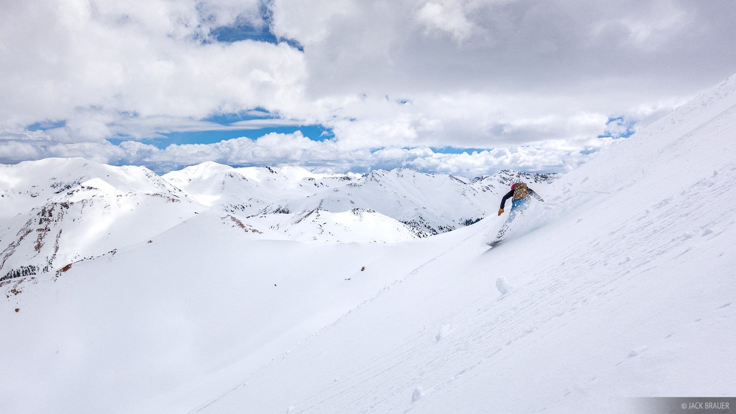 Colorado, San Juan Mountains, snowboarding, photo