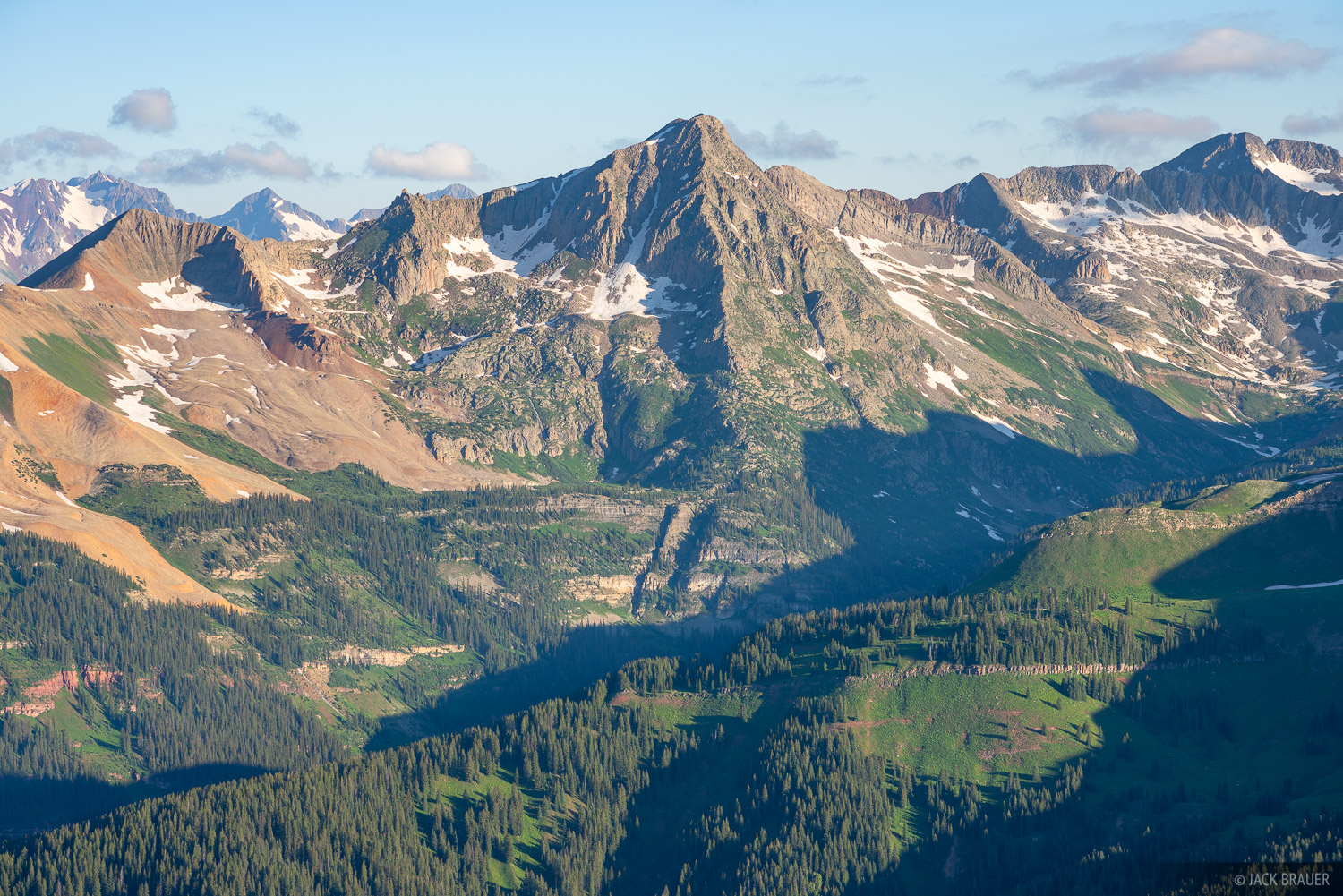 Colorado, Engineer Mountain, Grizzly Peak, San Juan Mountains, photo