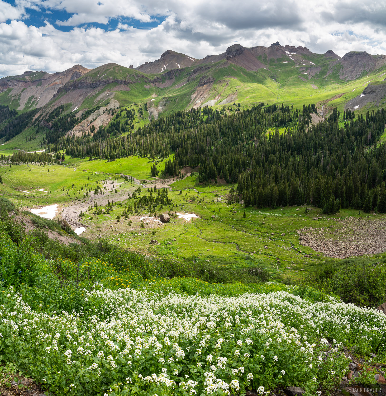 Colorado, San Juan Mountains, Uncompahgre Wilderness, Cimarrons, photo