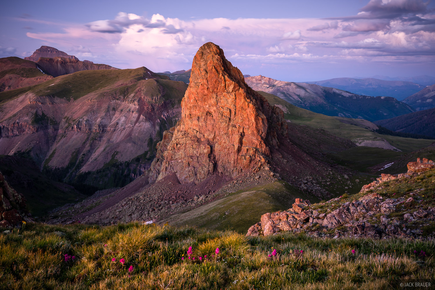 Colorado, Dragonsback, San Juan Mountains, Uncompahgre Wilderness, photo