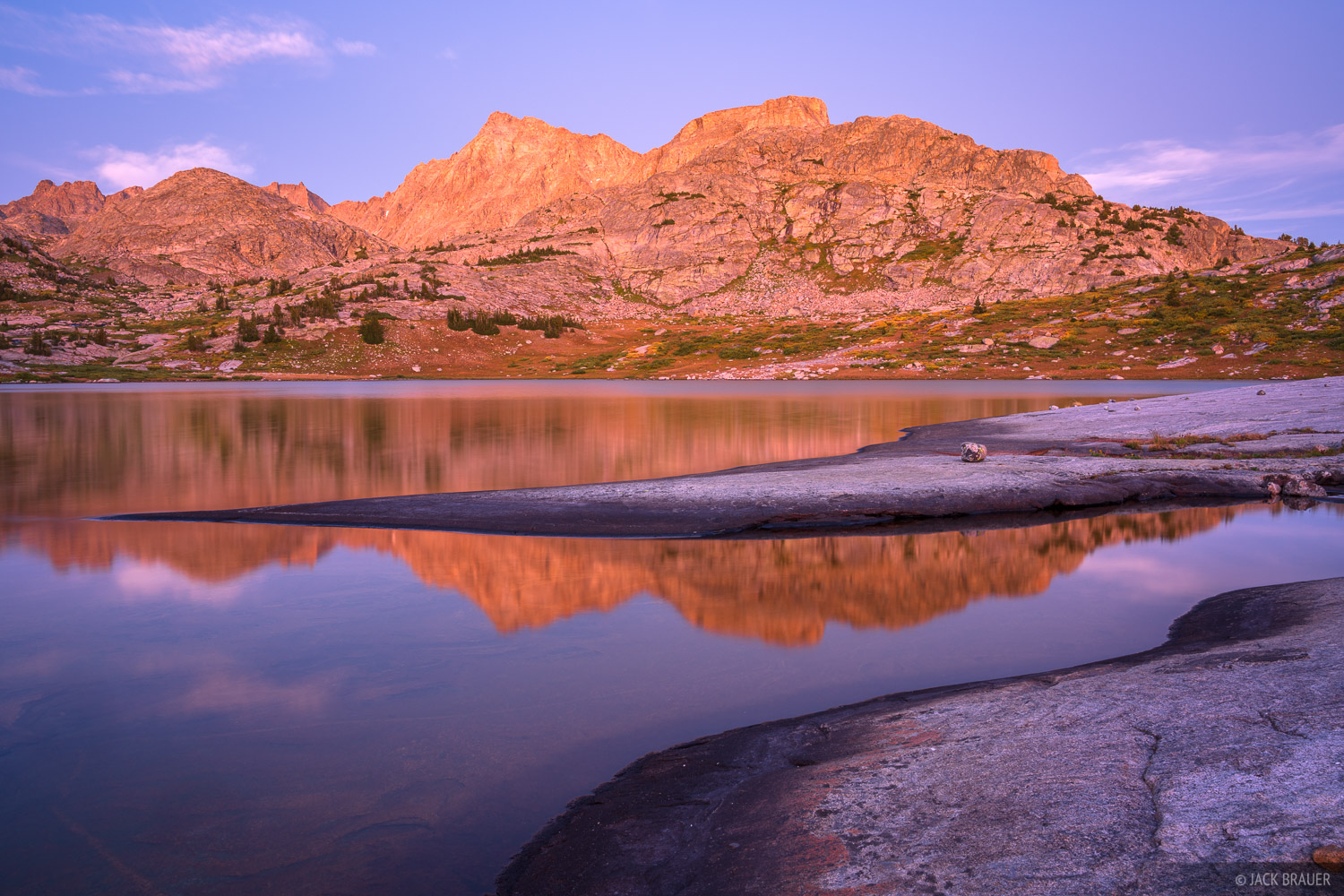 Bridger Wilderness, Ellingwood Peak, Wind River Range, Wyoming, photo