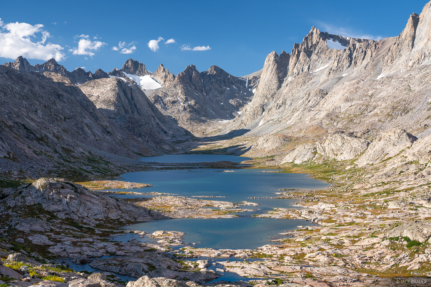 Bridger Wilderness, Mount Helen, Titcomb Lakes, Wind River Range, Wyoming, photo