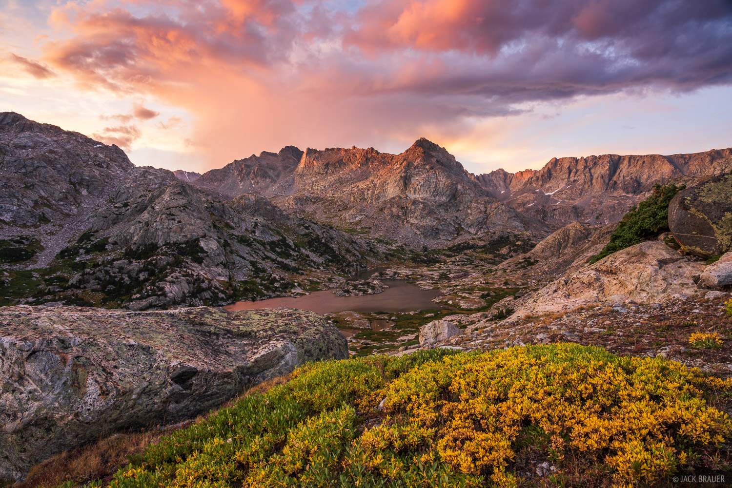 Bridger Wilderness, Wall Lake, Wind River Range, Wyoming, photo