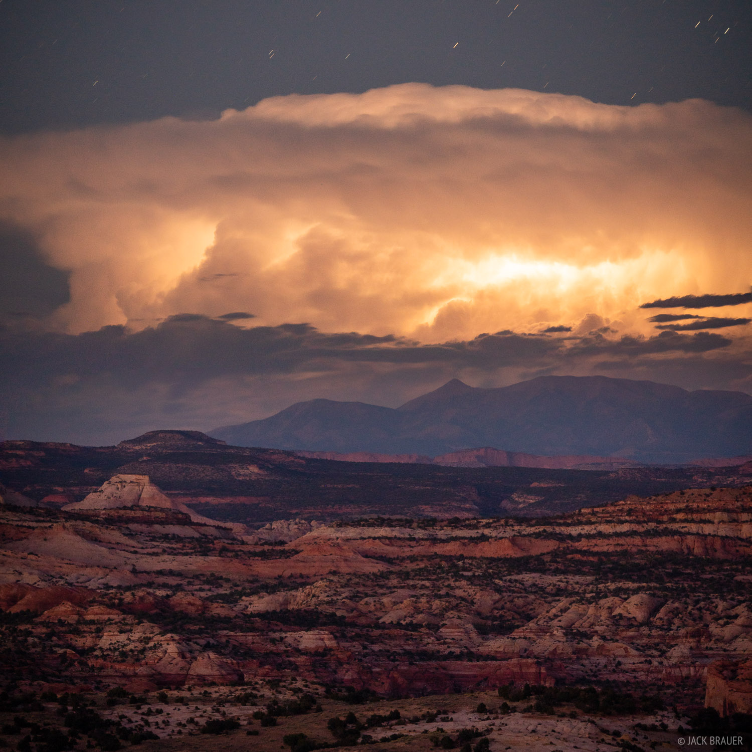 Grand Staircase - Escalante National Monument, Henry Mountains, Utah, lightning, Escalante, photo