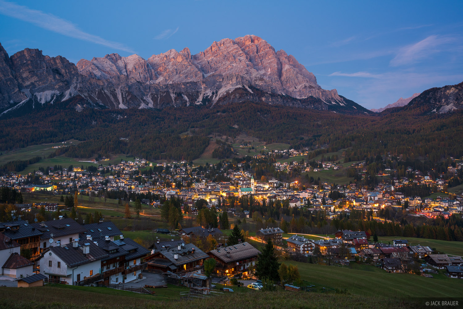 Cortina d' Ampezzo, Dolomites, Italy, Monte Cristallo, October, Alps, photo