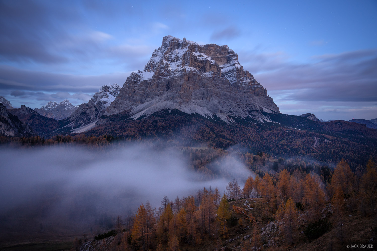 Dolomites, Italy, Monte Pelmo, November, Alps, photo