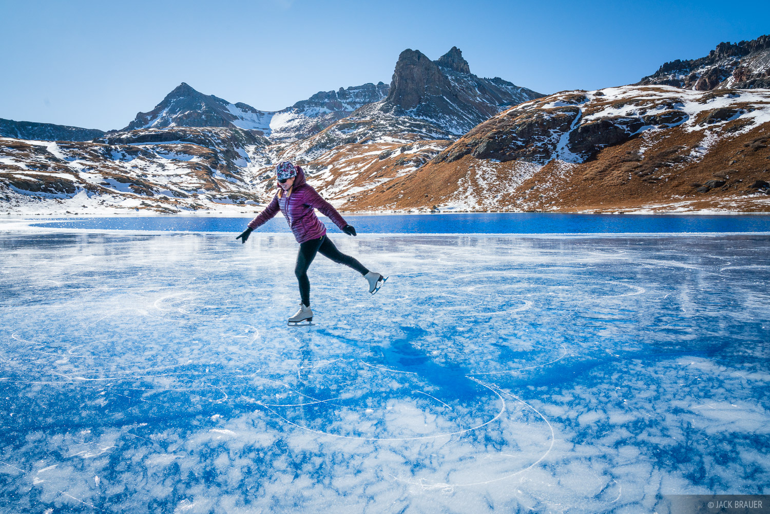 Colorado, Ice Lakes, San Juan Mountains, ice skate, ice skating, November