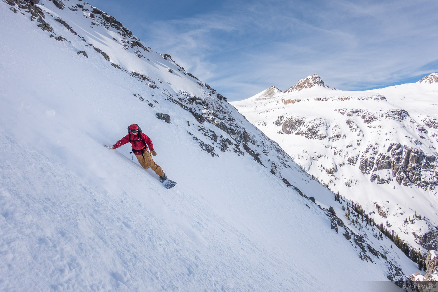 Chatanooga, Jason Mullins, snowboarding, San Juan Mountains, Colorado, photo