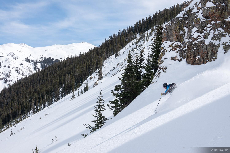 Chatanooga, Colorado, Dave Katz, San Juan Mountains, skiing, photo