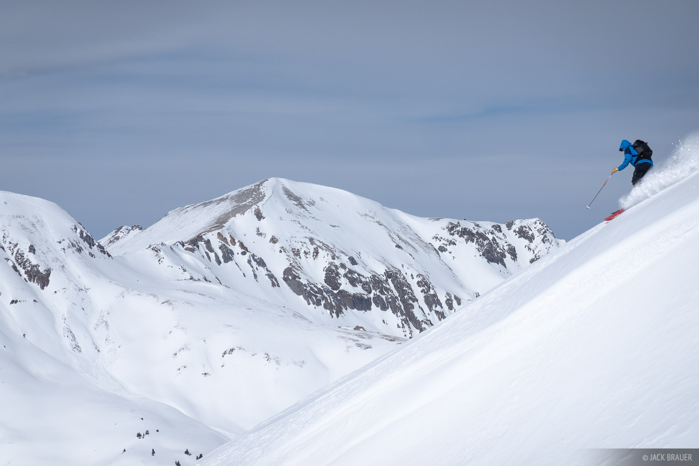 Colorado, Red 2, Red Mountain, San Juan Mountains, skiing, photo