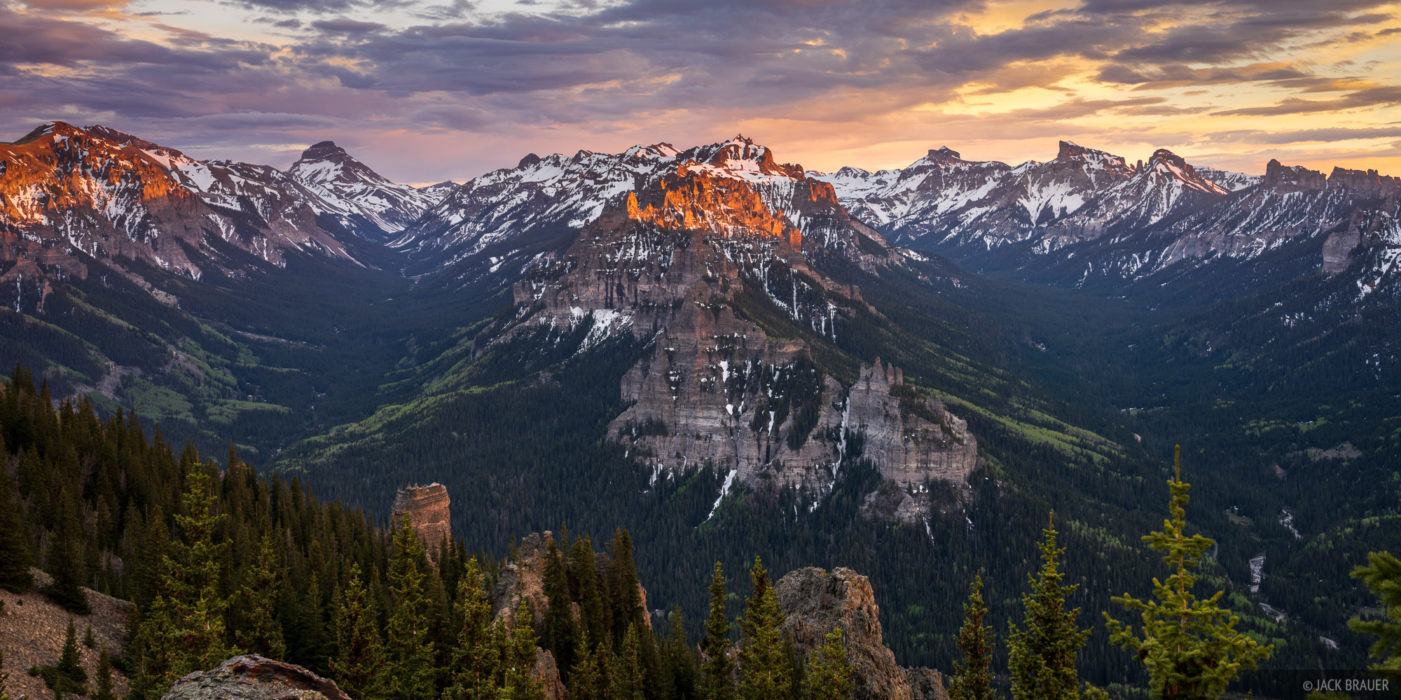 Cimarrons, Colorado, Precipice Peak, San Juan Mountains, Uncompahgre Peak, Uncompahgre Wilderness, photo
