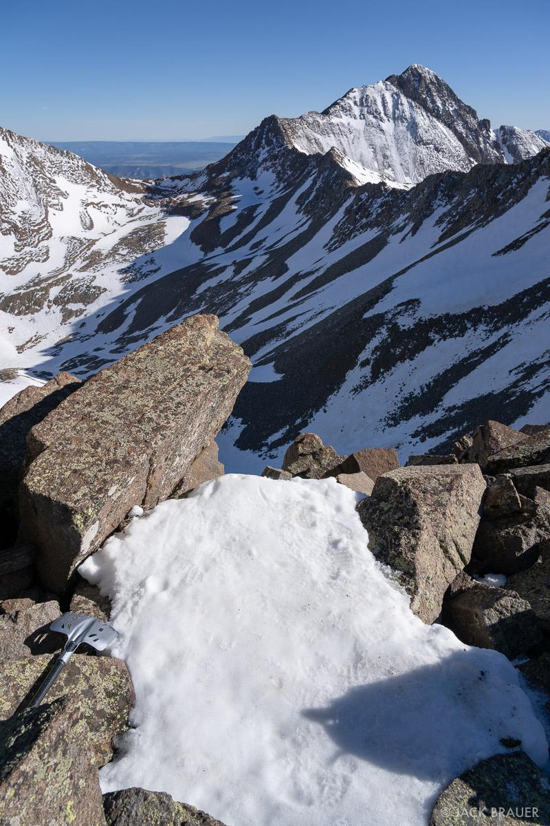 13,400-foot tent platform.
