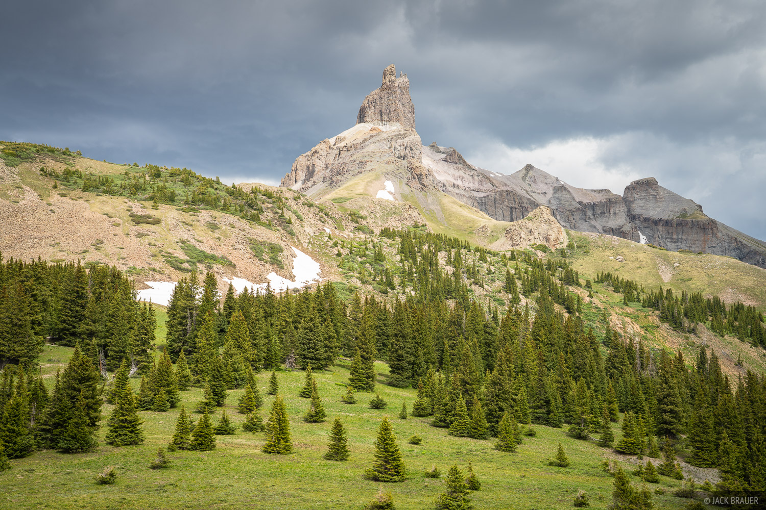 Colorado, Lizard Head Peak, Lizard Head Wilderness, San Juan Mountains, San Miguel Range, photo
