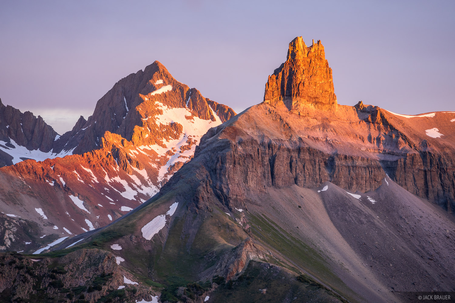 Black Face Mountain, Colorado, Gladstone Peak, Lizard Head Peak, Lizard Head Wilderness, San Juan Mountains, San Miguel Range, photo