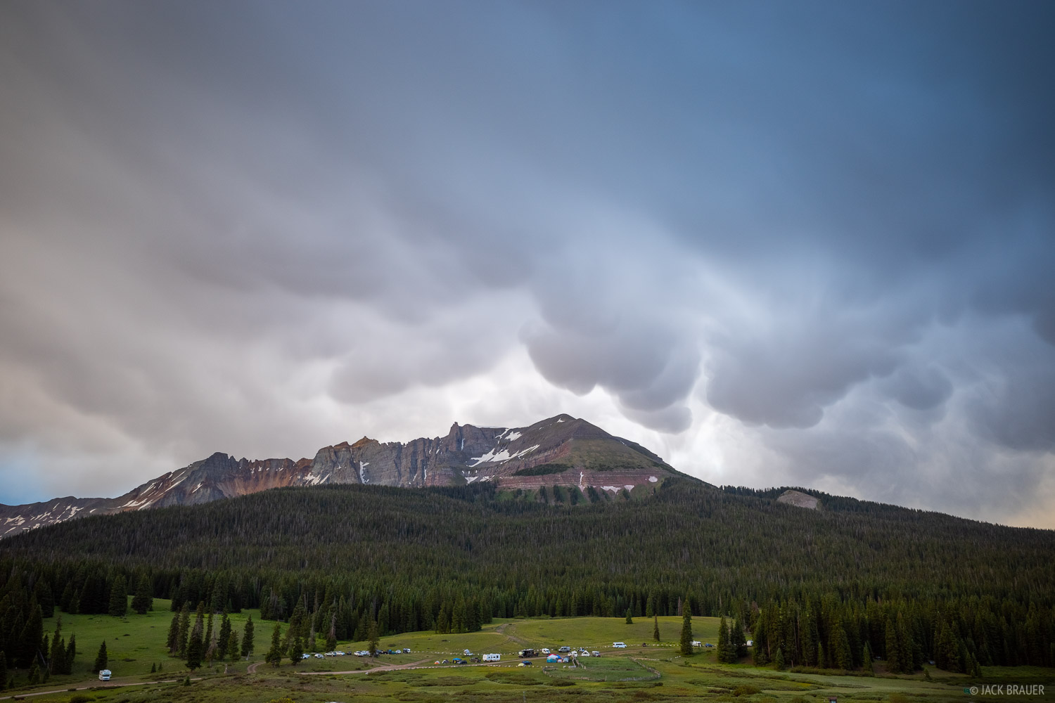 Colorado, Lizard Head Pass, San Juan Mountains, San Miguel Range, Sheep Mountain, photo