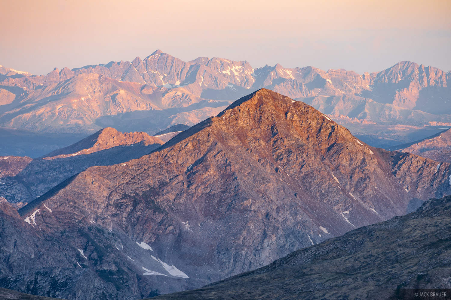 Castle Peak, Collegiate Peaks Wilderness, Colorado, Elk Mountains, Huron Peak, Mount Harvard, Sawatch Range, photo