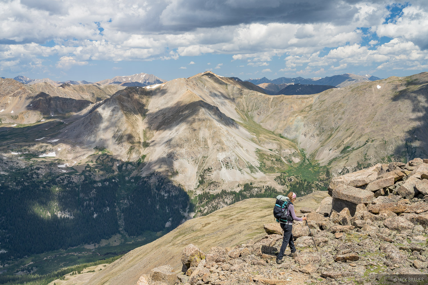 Collegiate Peaks Wilderness, Colorado, Mount Belford, Mount Harvard, Sawatch Range, hiking, 14ers, photo