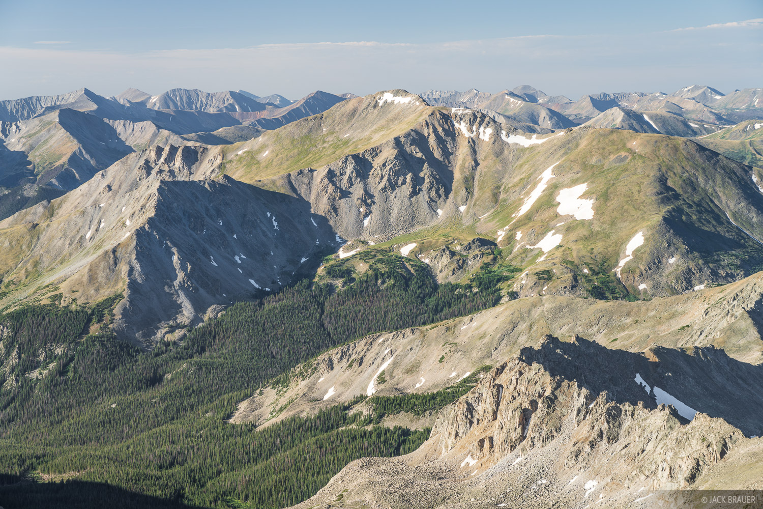Collegiate Peaks Wilderness, Colorado, Mount Harvard, Mount Yale, Sawatch Range, 14er, photo