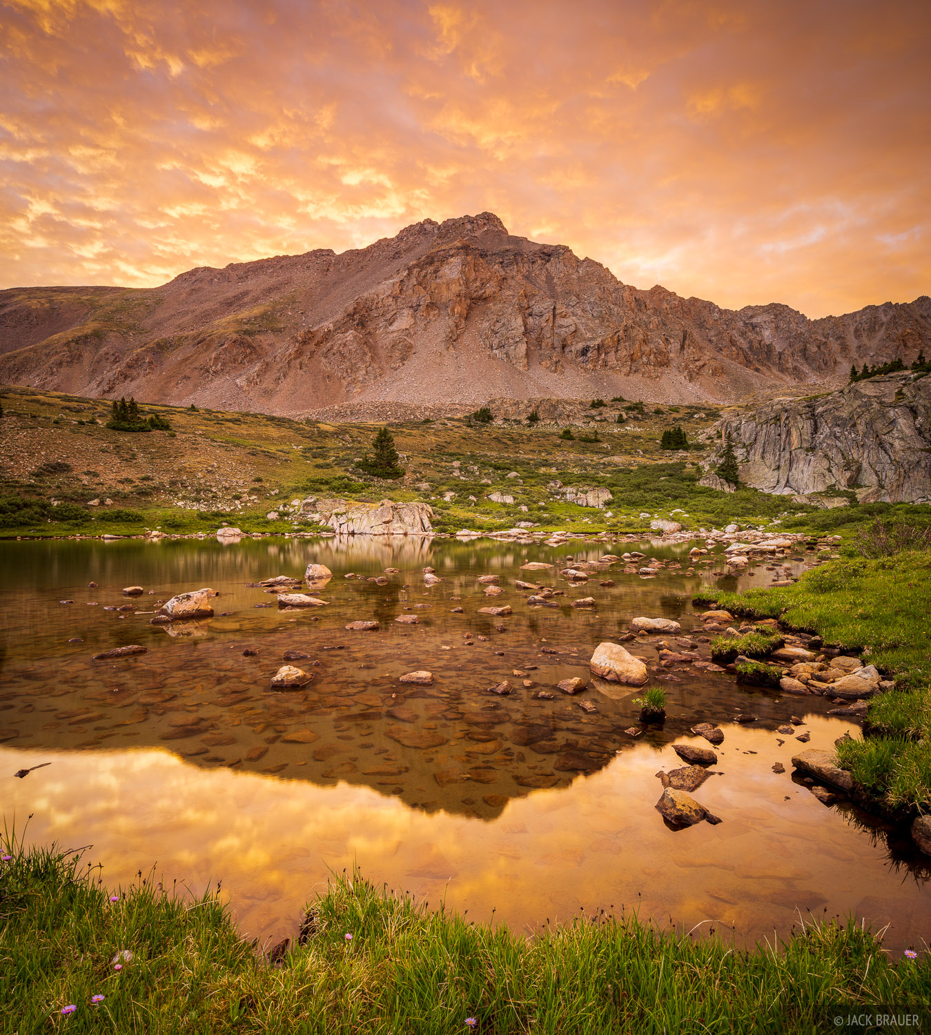 Collegiate Peaks Wilderness, Colorado, Missouri Basin, Mount Harvard, Sawatch Range, 14er, sunrise, photo