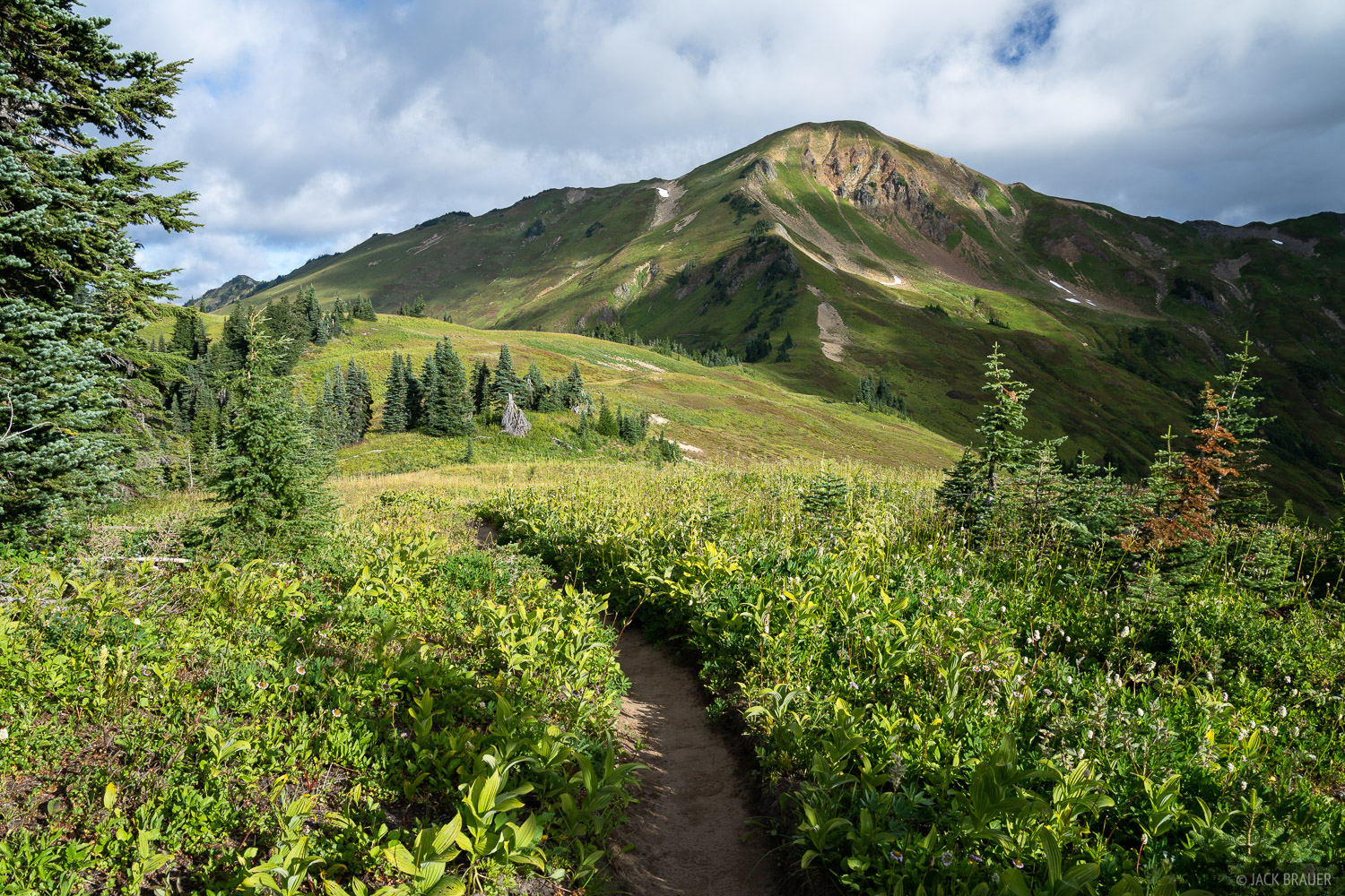 Glacier Peak Wilderness, Washington, White Pass, trail, Pacific Crest Trail, PCT, Cascades, photo