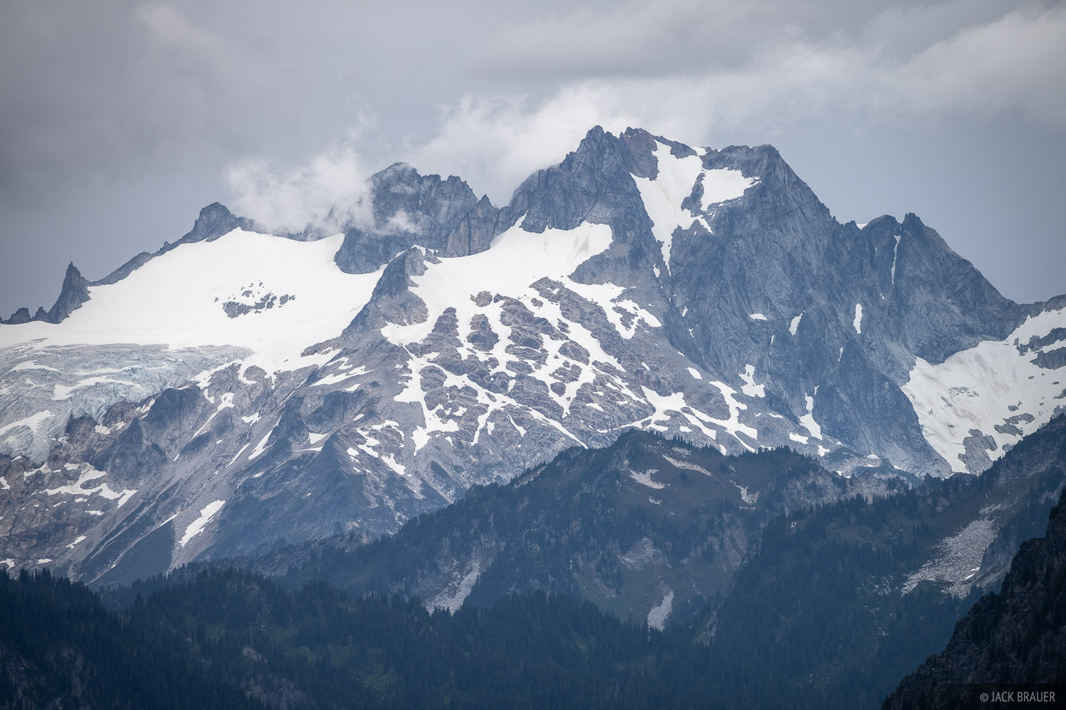 Dome Peak, Glacier Peak Wilderness, Washington, Cascades, photo
