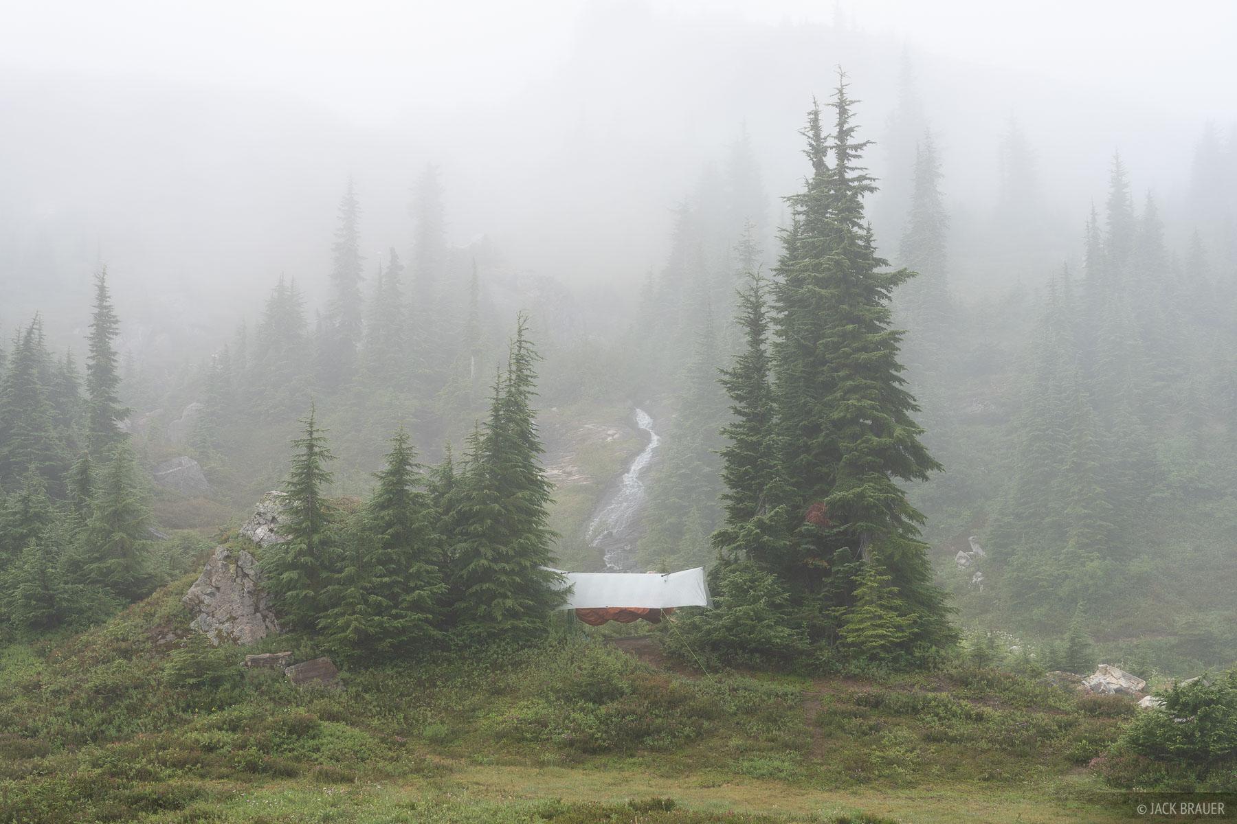 Glacier Peak Wilderness, Washington, hammock, Cascades, photo