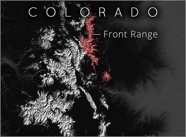 Front Range map
