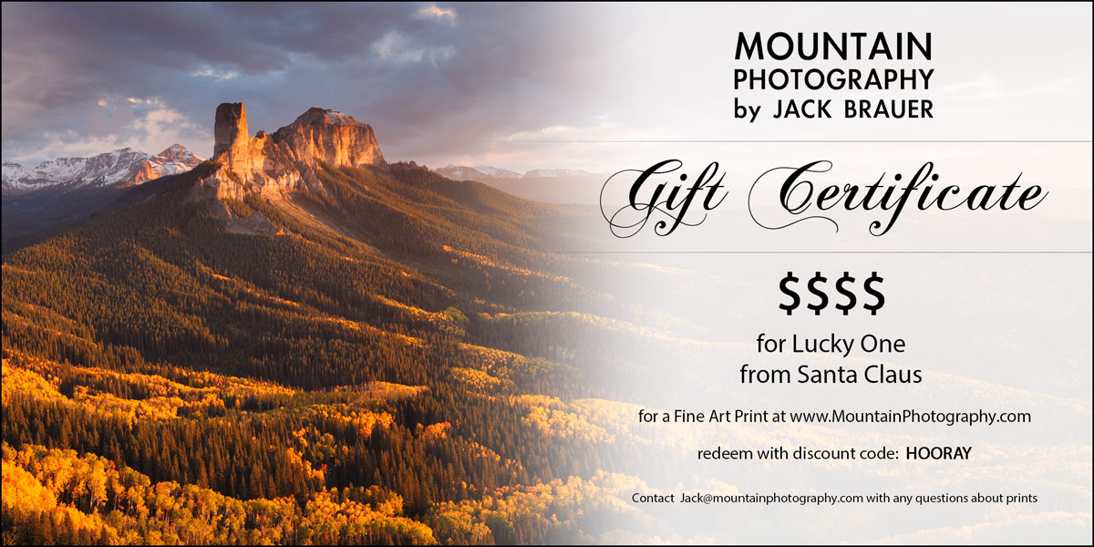 Artwork Gift Certificate