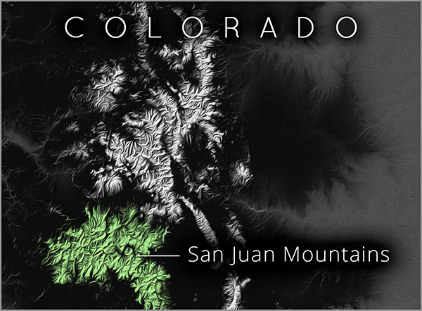 San Juans map