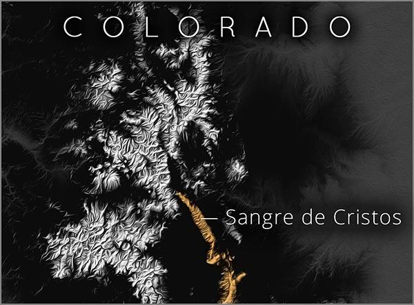 Sangre de Cristo map