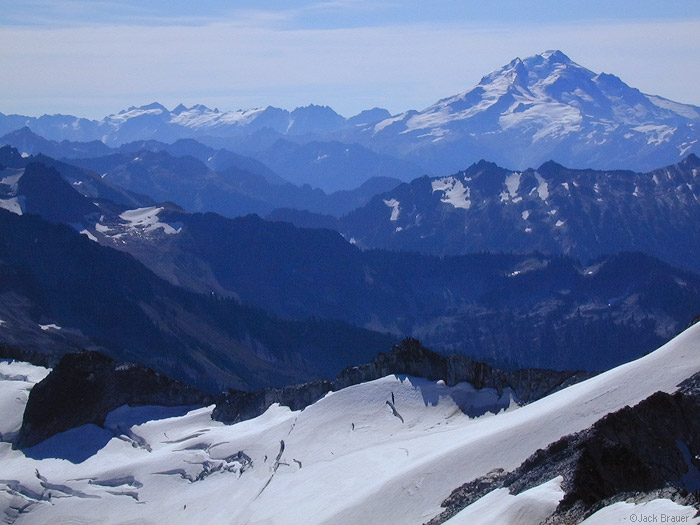 Glacier Peak, Snowking Mtn., Washington, Cascades, photo